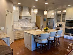 Countertops and cabinets | Pierce Flooring