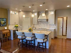 Countertops and cabinets   Pierce Flooring