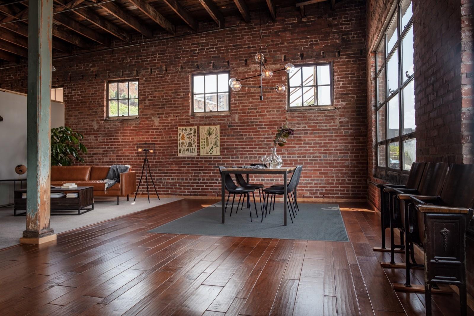Red flooring | Pierce Flooring