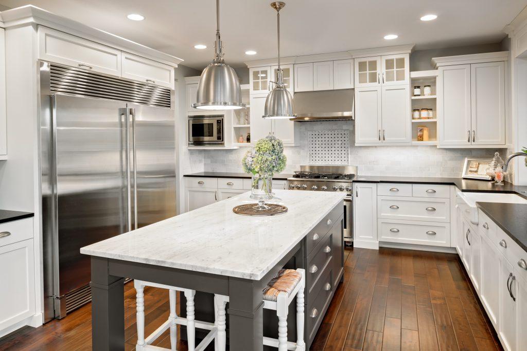 kitchen in luxury home | Pierce Flooring