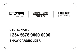 Financing card | Pierce Flooring